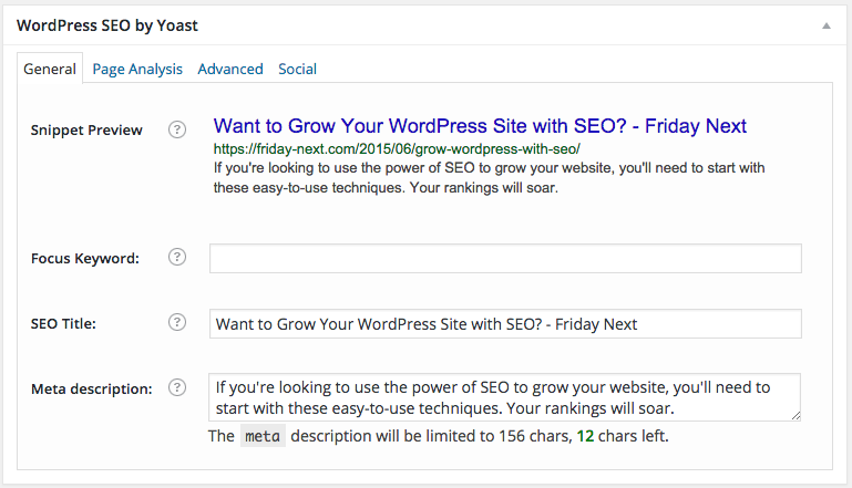 Optimizing WordPress Content for SEO - Friday Next WordPress Development